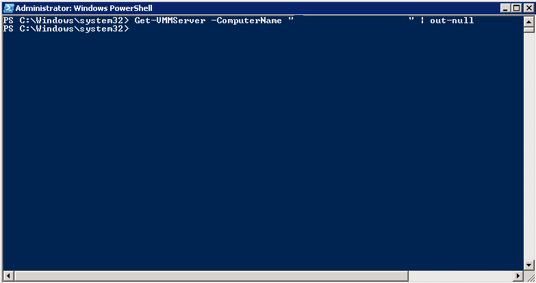 Stopping Virtual Machines with VMM using PowerShell