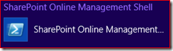 SharePoint Online Management Shell logo