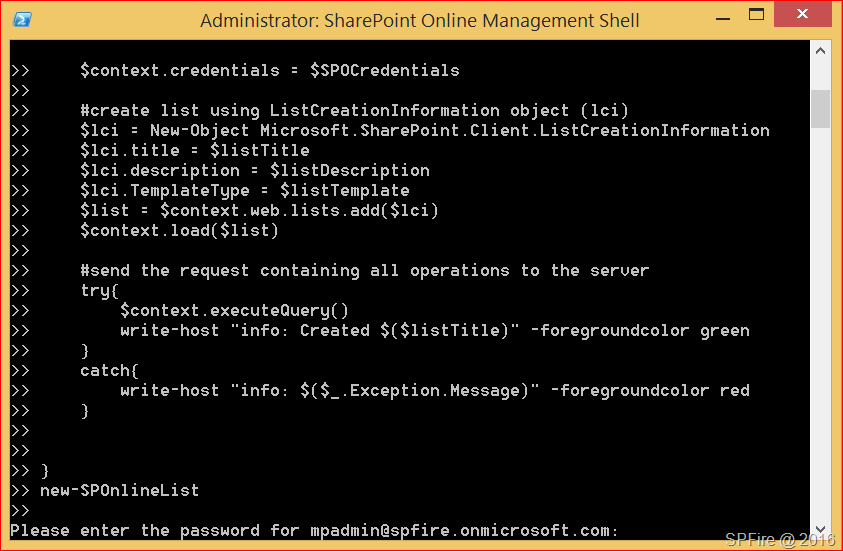 Create new document library in sharepoint online with powershell image maxwellsz