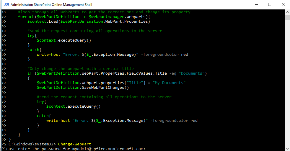 Editing Web Part properties with PowerShell CSOM in SharePoint