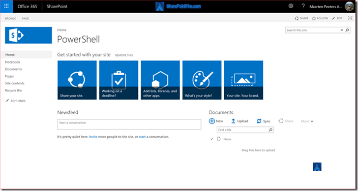 SharePoint Online PnP Site Provisioning using Flow and Azure Function